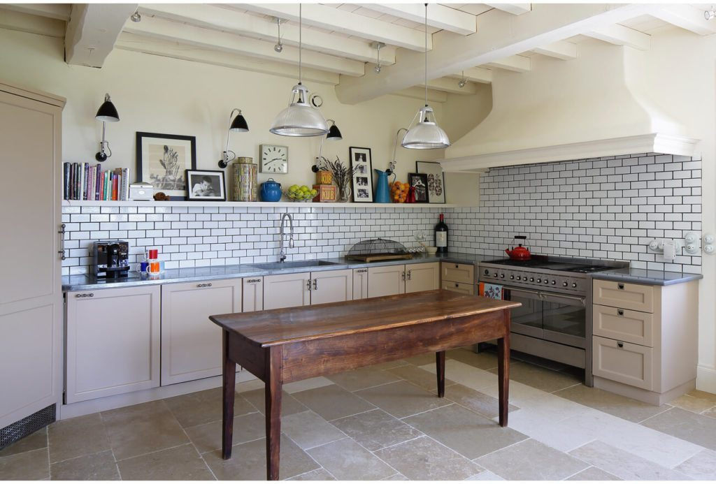 Kitchen View: Brassac, French Country House