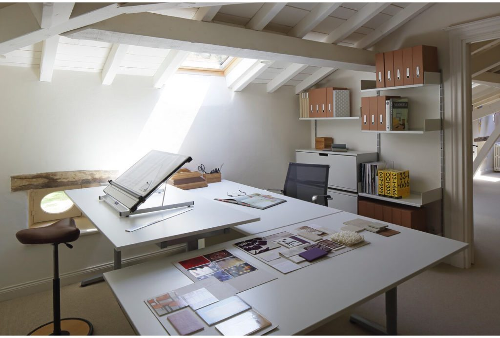 Home Office: French Country House