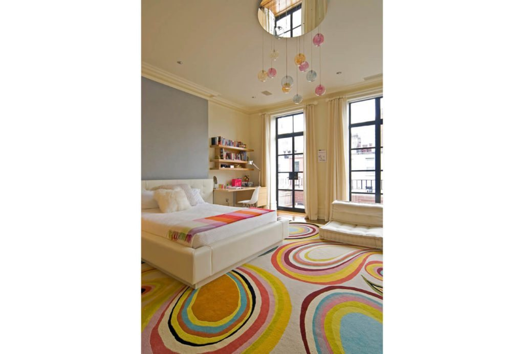 Girl's Bedroom - New York City Browstone